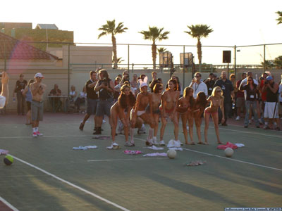 Naked Dodgeball at The Phoenix Forum