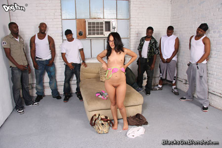 Chelsea Ray Interracial Gang Bang