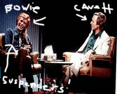 Cavett and Bowie